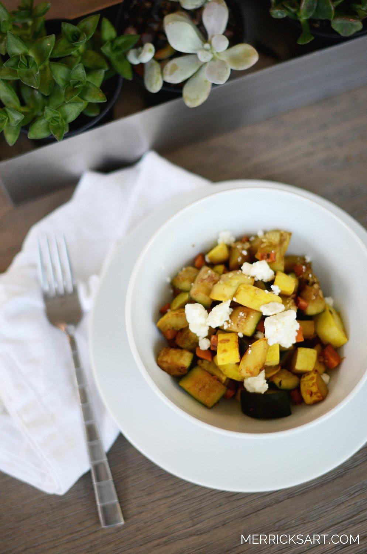 Merrick's Art Healthy Veggie Lunch