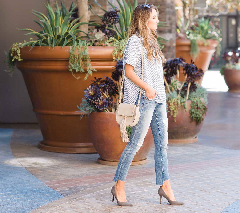 Merrick's Art Gap Jeans Refashion