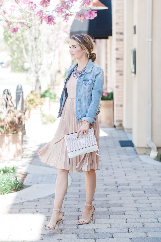 Merrick's Art Lauren Conrad Blush Dress