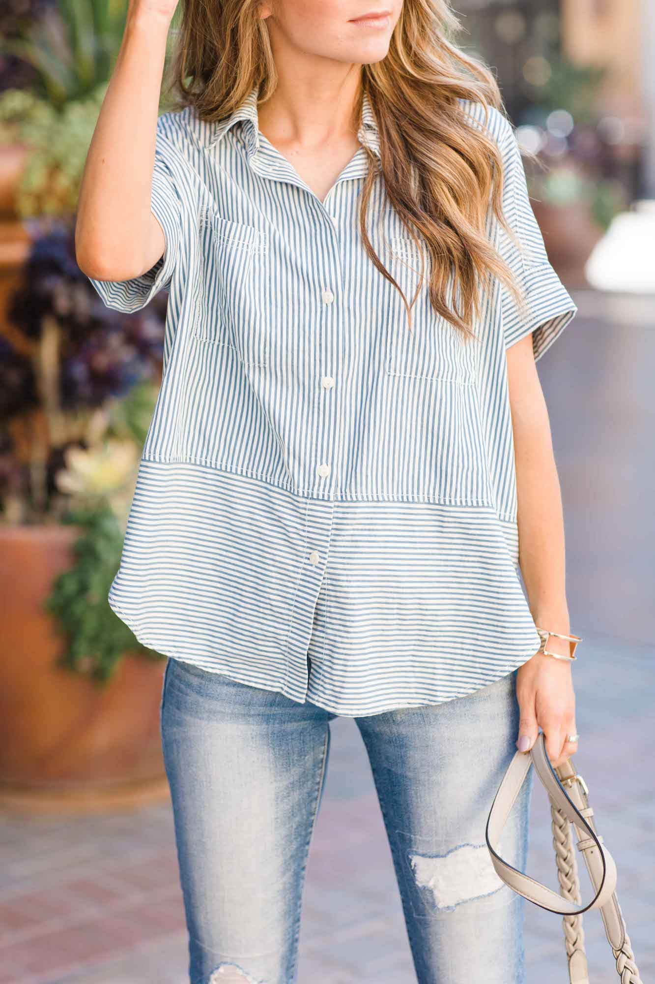 Merrick's Art Madewell Striped Shirt