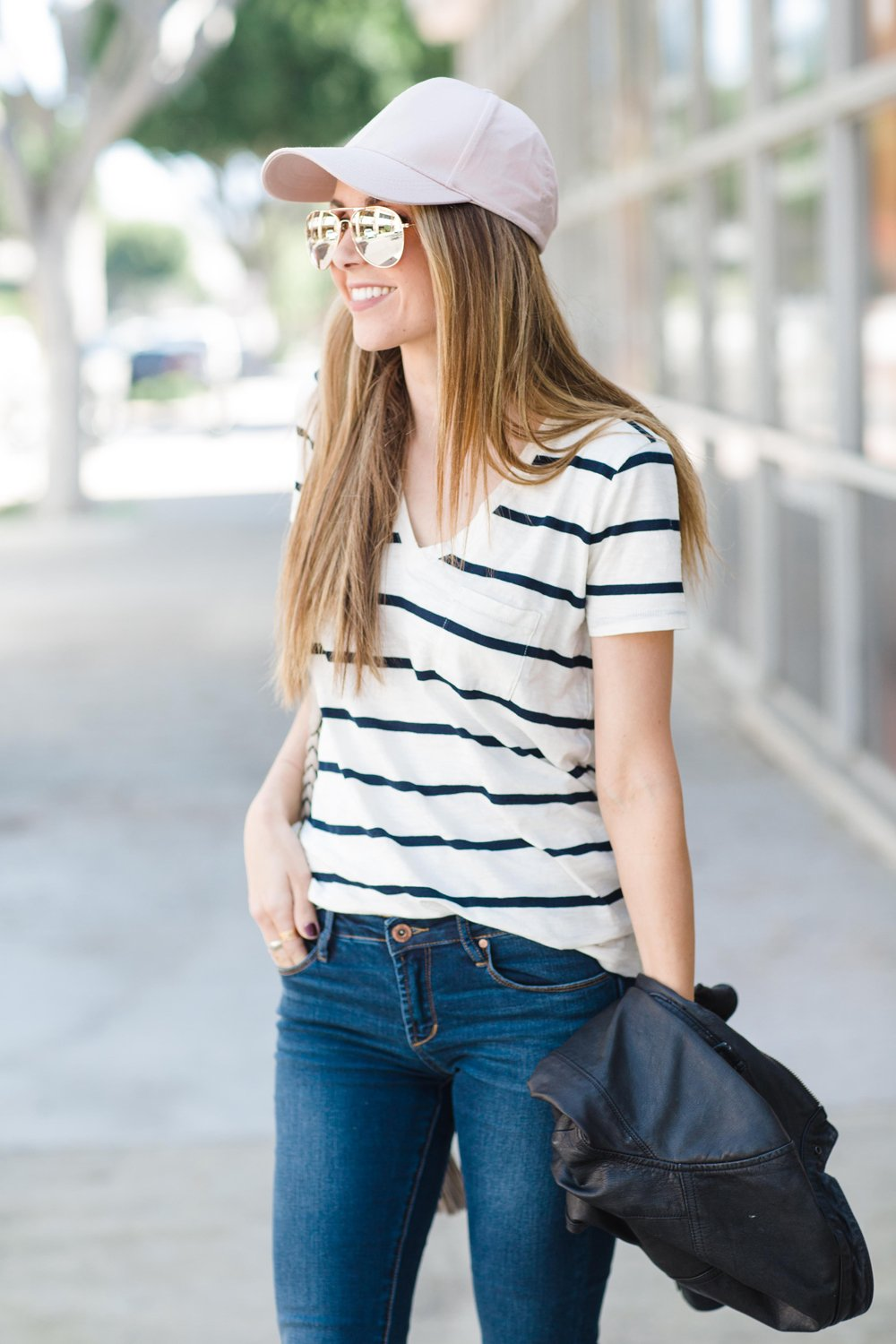 Merrick's Art Madewell Striped Tee