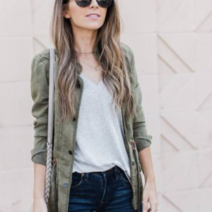 tons of ways to wear my favorite style of jacket for fall