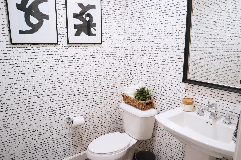 Merrick's Art Walls Need Love Powder Room