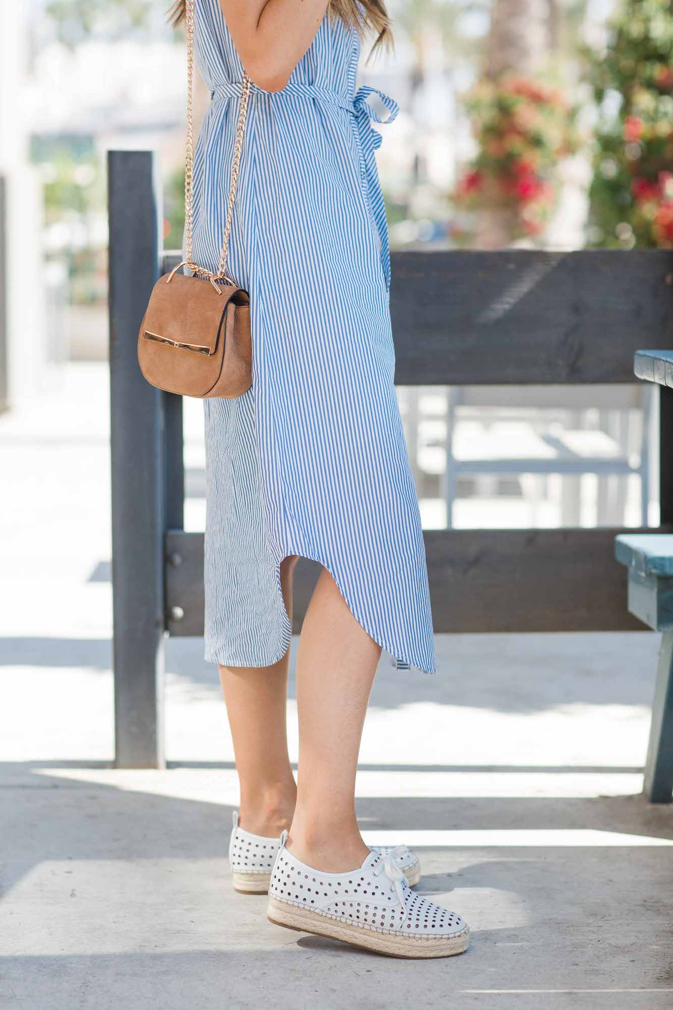 Merrick's Art Shirt Dress and Sneakers
