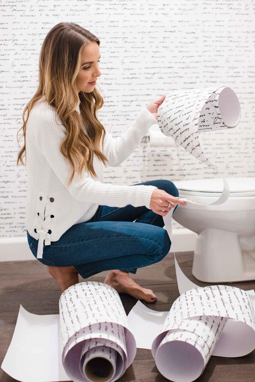 Merrick's Art Walls Need Love Bathroom
