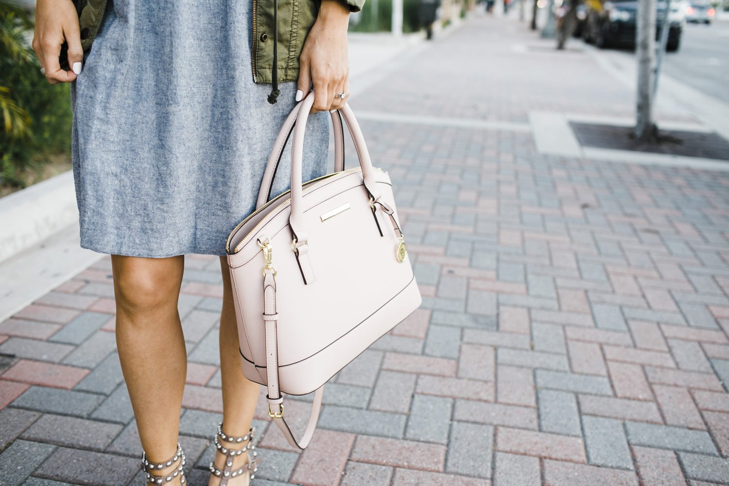 Merrick's Art Ann Klein Blush Bag