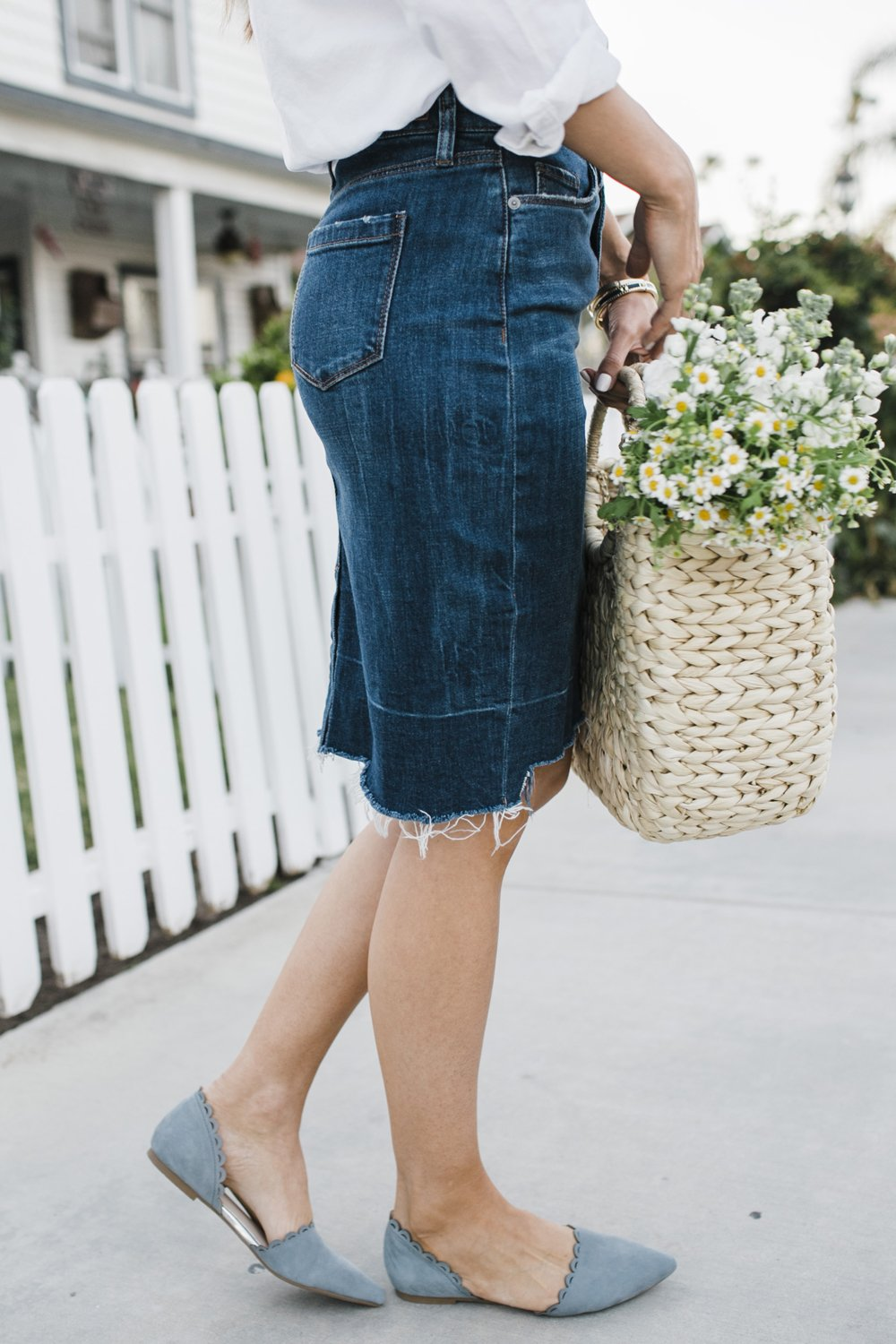 Merrick's Art | BlankNYC Denim Skirt