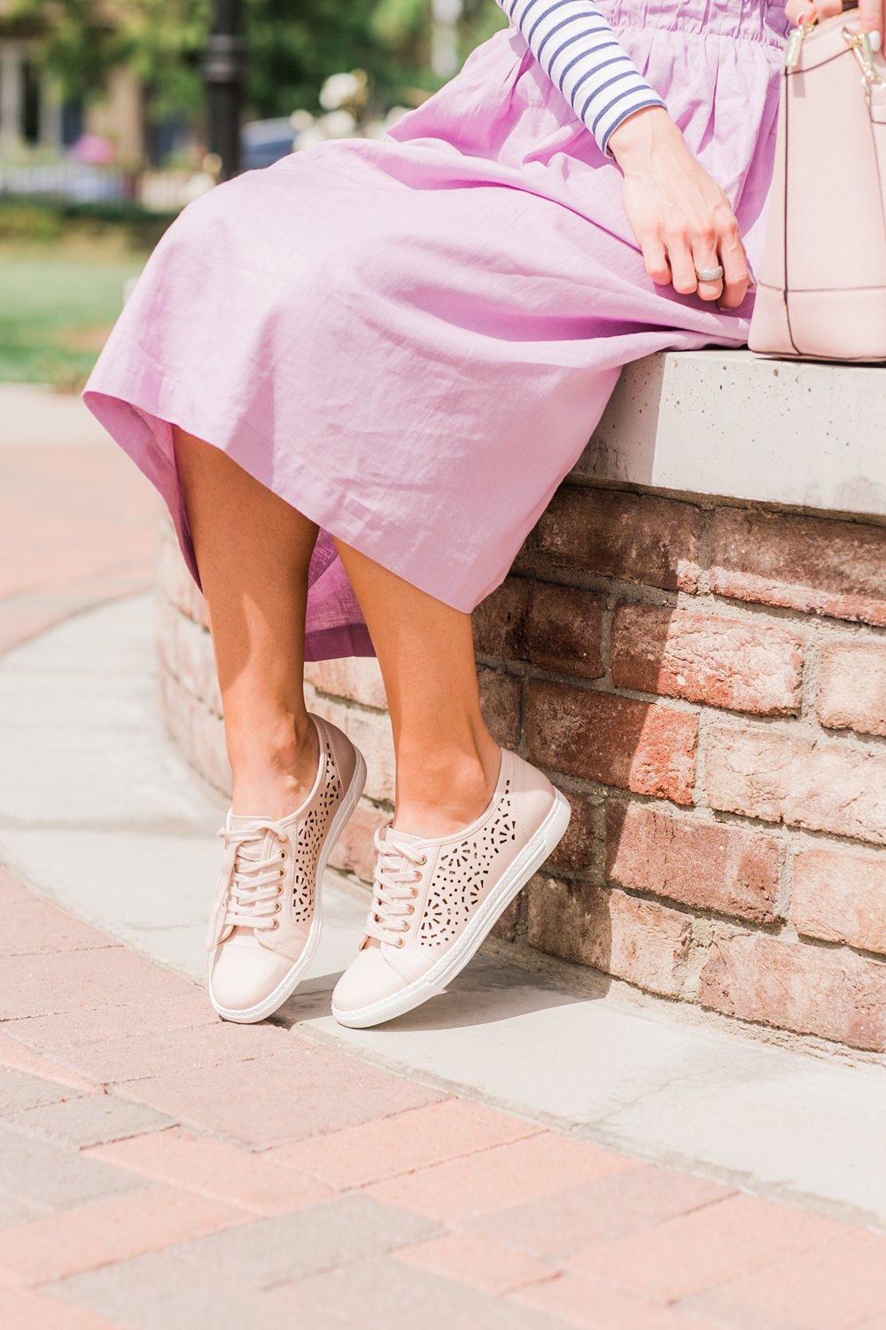 Merrick's Art Blush Perforated Sneakers