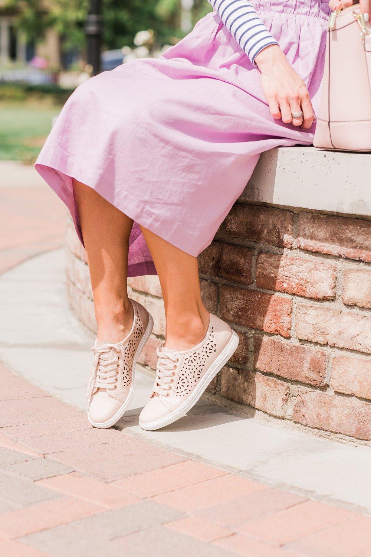 Merrick's Art Blush Perforated Sneakers