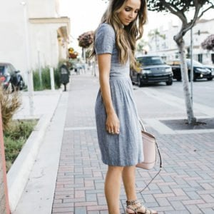 Merrick's Art Denim Dress