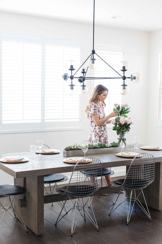 Merrick's Art Dining Space