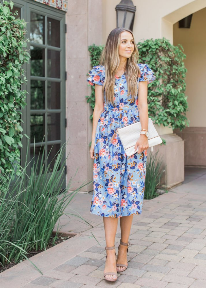 Merrick's Art | Floral Easter Dress