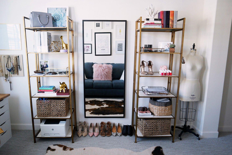 Merrick's Art Home Office Bookshelves