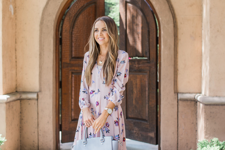 Merrick's Art | Pink Floral Dress