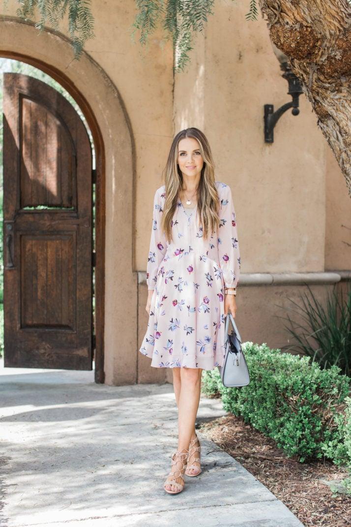 Merrick's Art   Rebecca Taylor Floral Dress