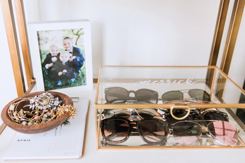 Merrick's Art Sugar and Chic Personalized Glass Box