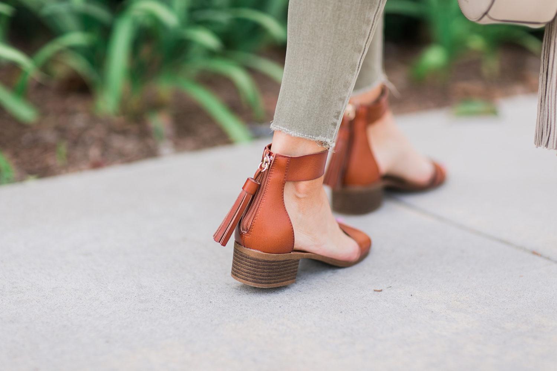 Merrick's Art Tassel Back Sandals