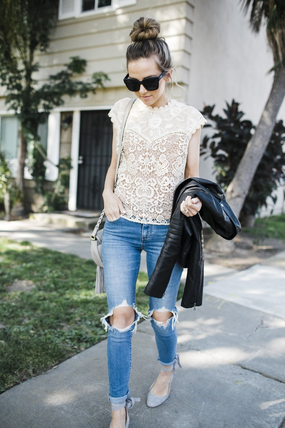 Merrick's Art Tracy Reese Lace Top