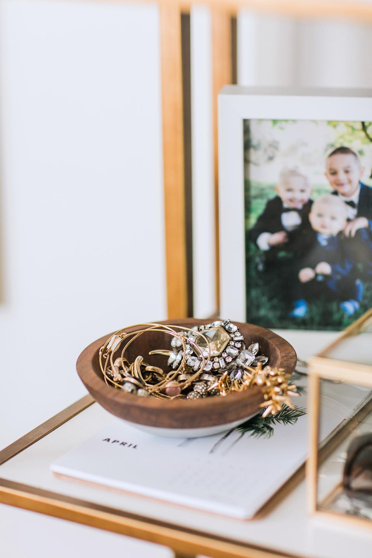 Merrick's Art Wooden Jewelry Bowl