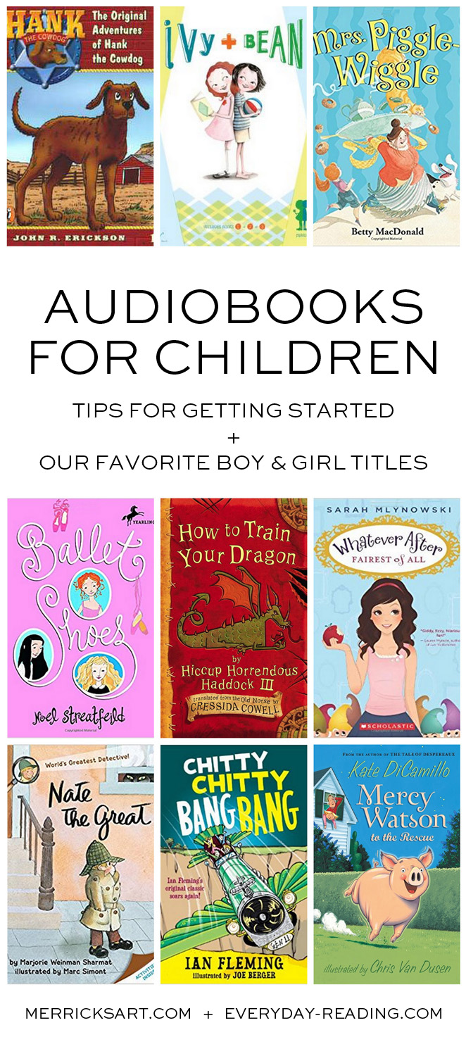 Merrick's Art | Children's Audiobooks