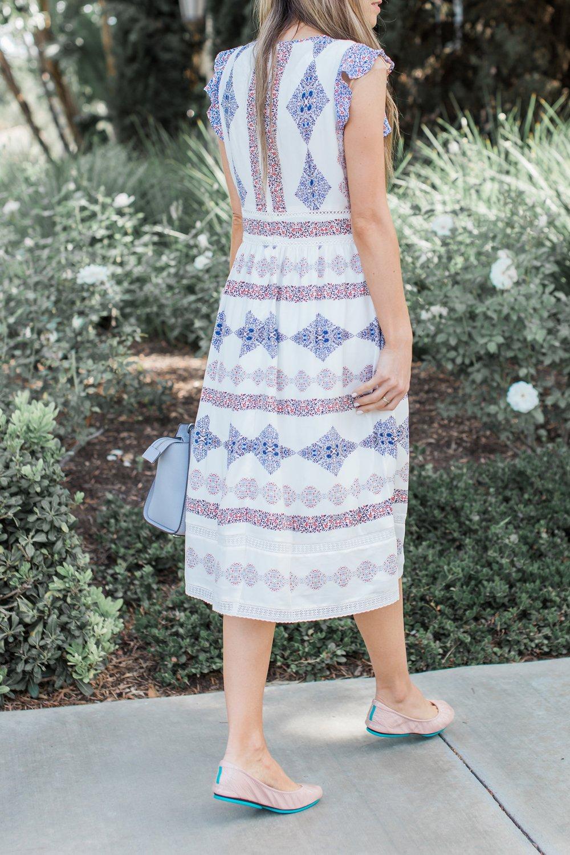 Merrick's Art Fit and Flare Dress