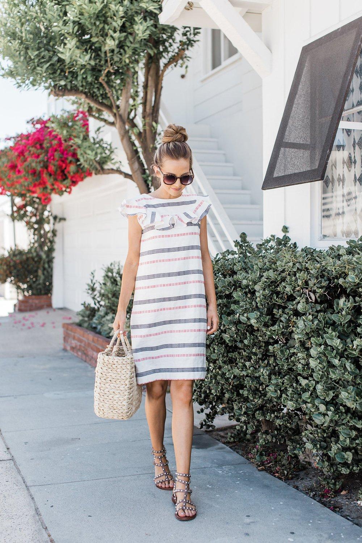 Merrick's Art How to Make a Summer Dress with a Ruffle Neck