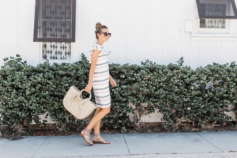 Merrick's Art How to make a Striped Summer Dress