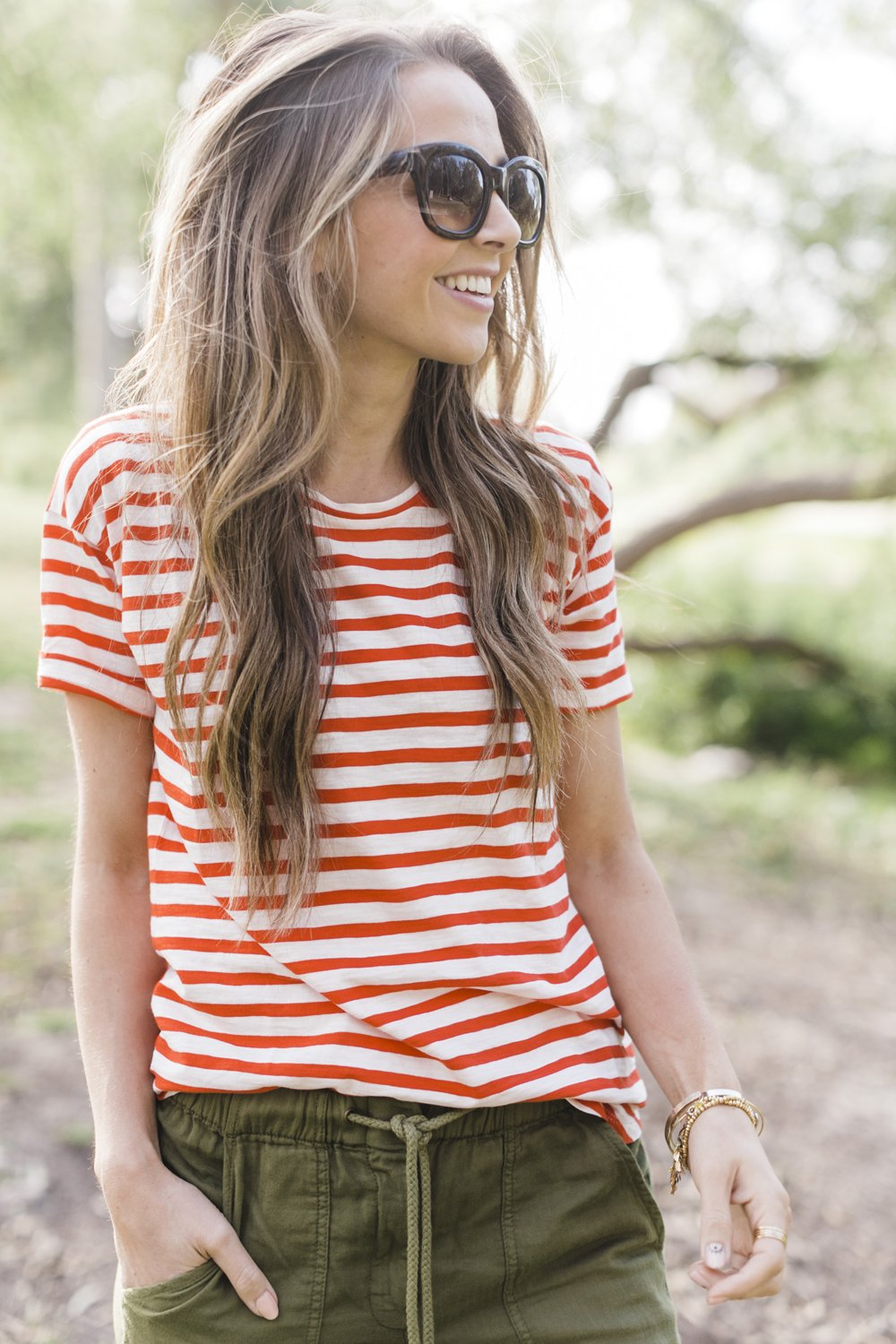 Merrick's Art | Madewell Striped Tee