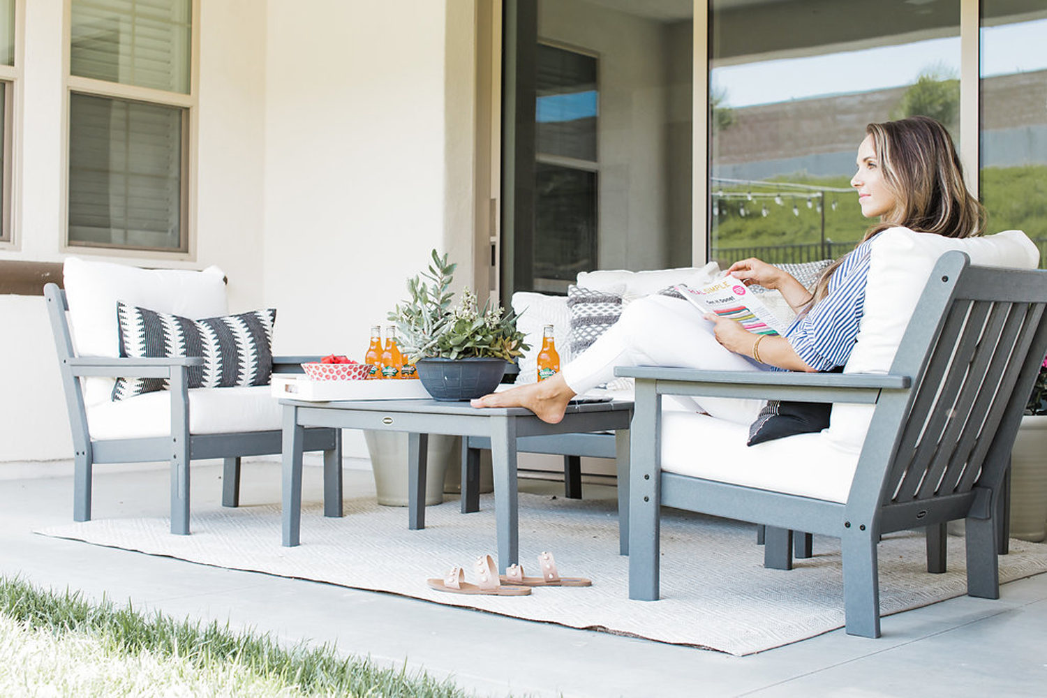Merrick's Art Polywood outdoor Living Room Furniture