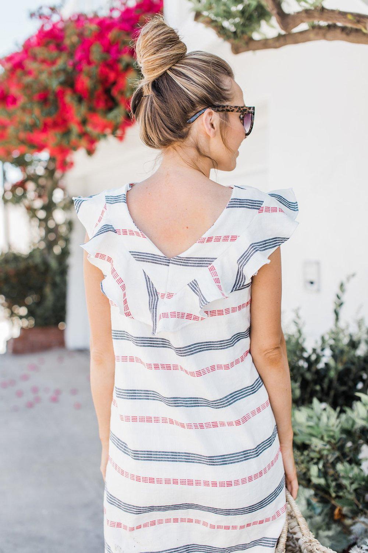 Merrick's Art Striped Summer Dress