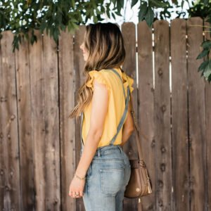 Merrick's Art Asos Ruffle Top Free People Overalls