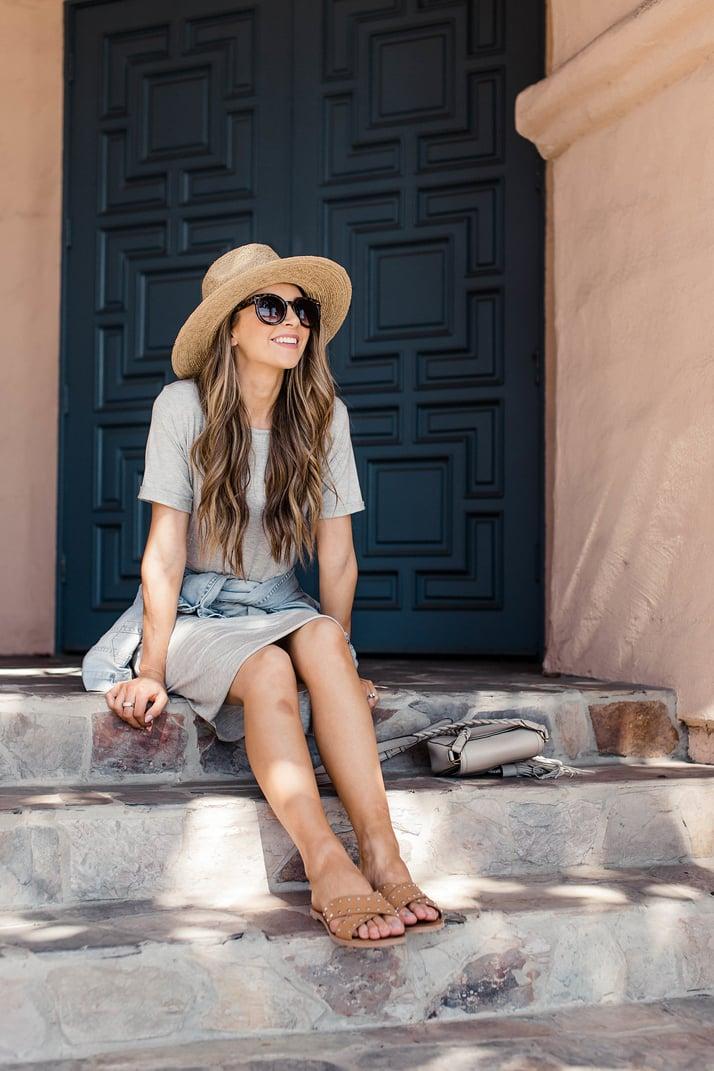 Merrick's Art Easy Gray Summer Dress DIY