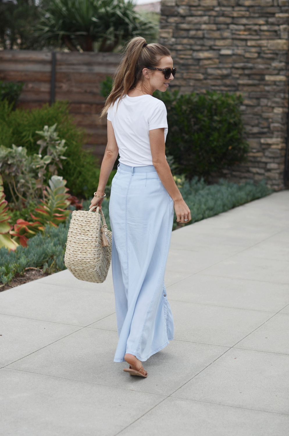 Merrick's Art Lord and Taylor Maxi Skirt