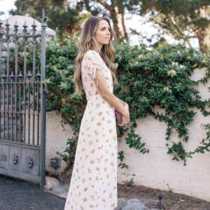 Merrick's Art Maxi Floral Dress