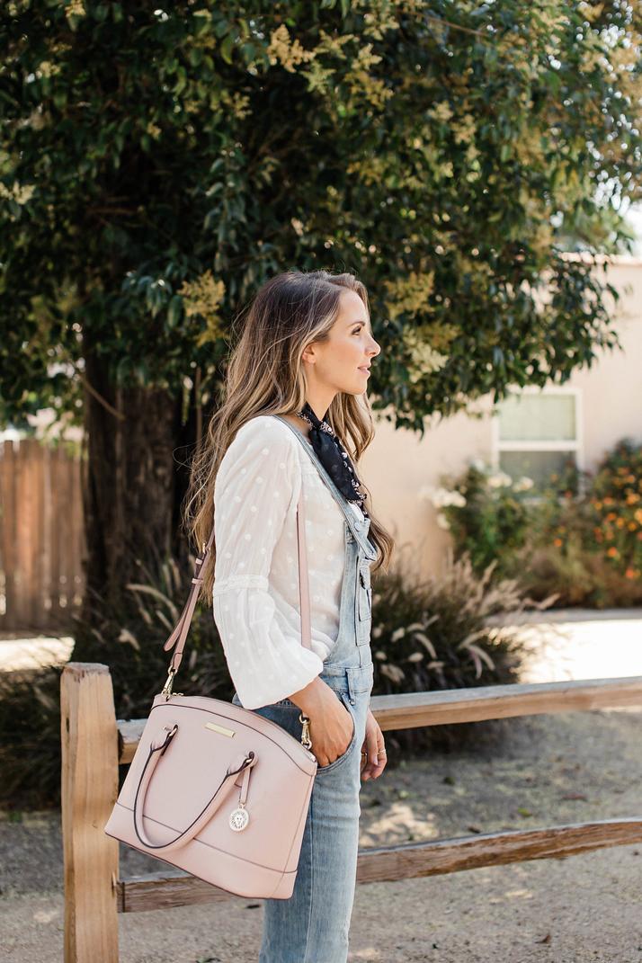 Merrick's Art Pink Satchel Bag
