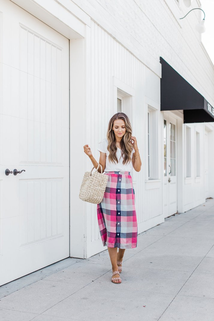 Merrick's Art Plaid Skirt