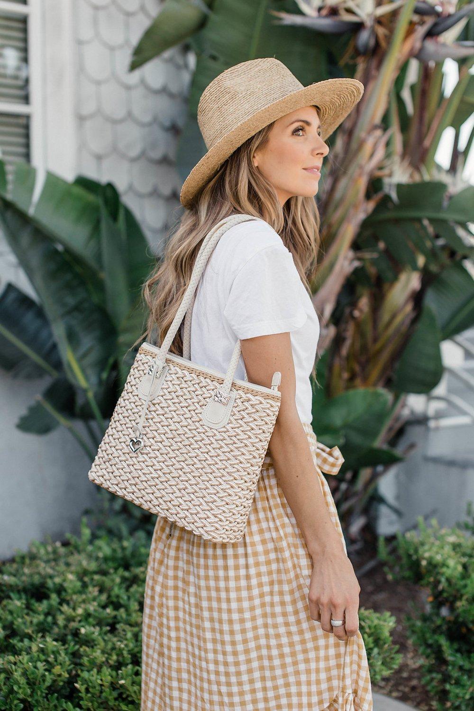 Merrick's Art Straw Bag
