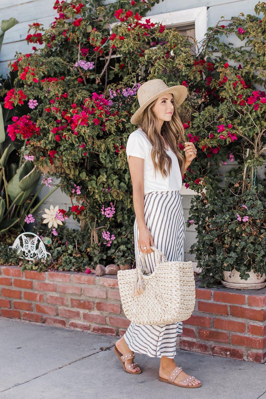 Merrick's Art Summer maxi skirt
