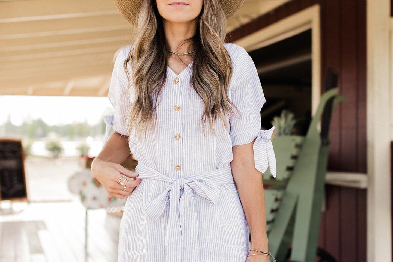 Button Up Shirt Dress | merricksart.com