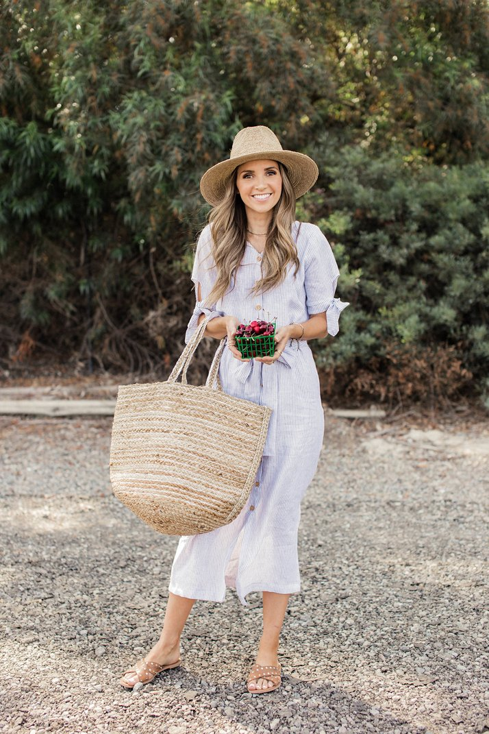 Farmer's market dress | merricksart.com