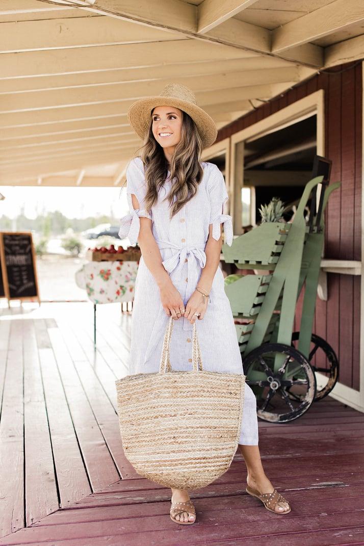 Linen Shirt Dress merricksart.com