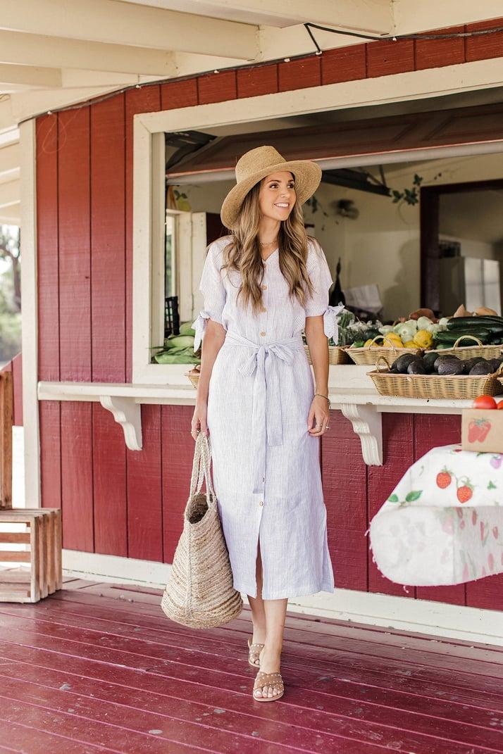 Linen shirtdress DIY | merricksart.com