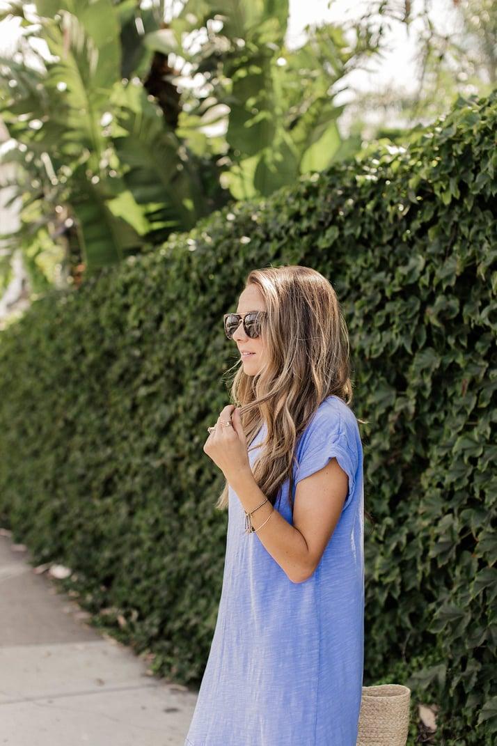 Merrick's Art Cornflower Blue Dress
