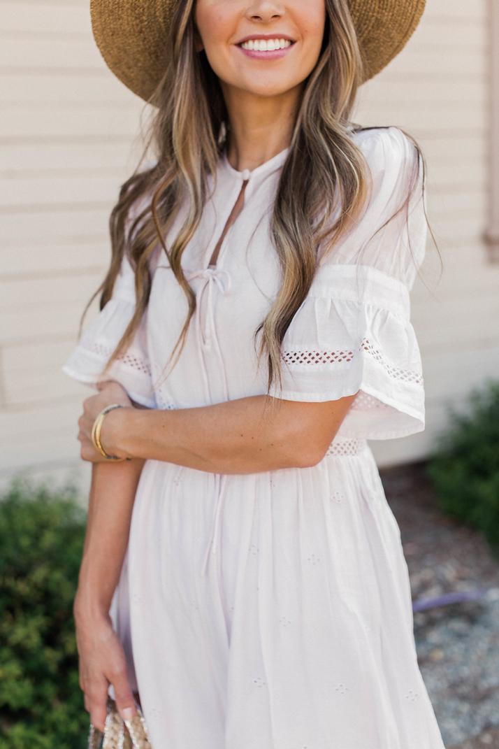 Merricksart.com | Bell Sleeve Midi Dress
