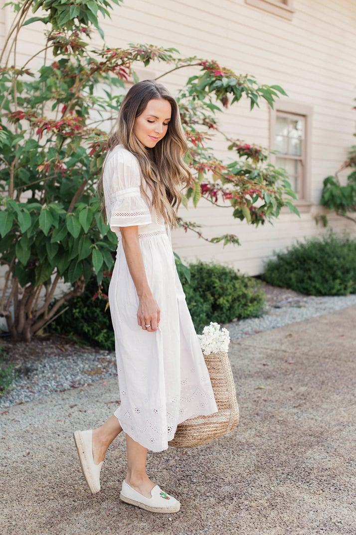 Merricksart.com | Lilac Midi Dress