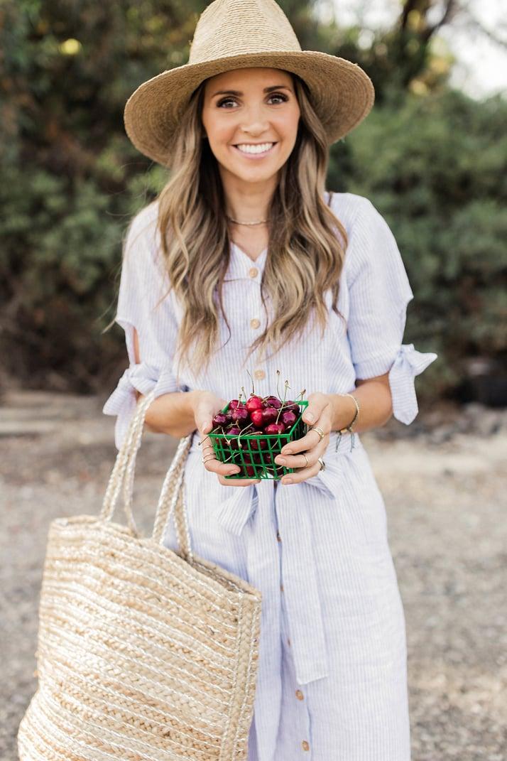 fresh cherries from the market   merricksart.com