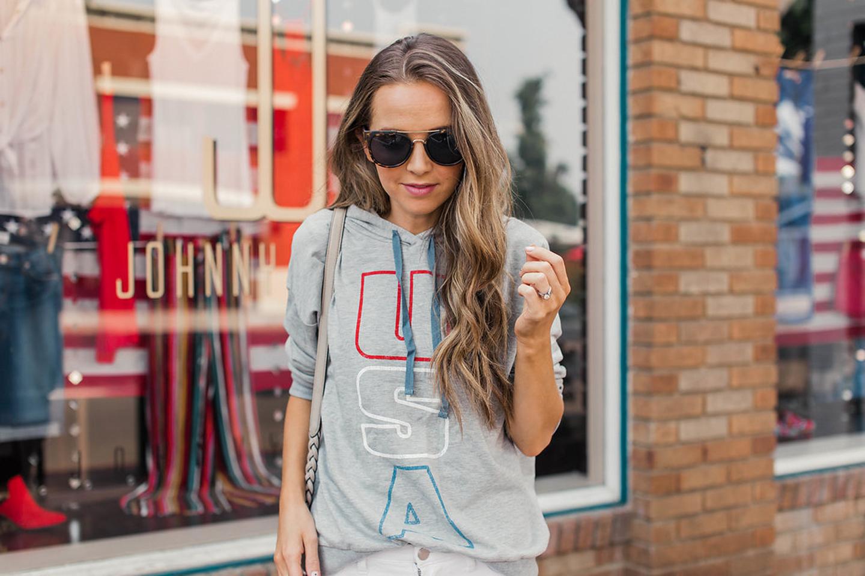 merricksart.com | gray usa sweatshirt