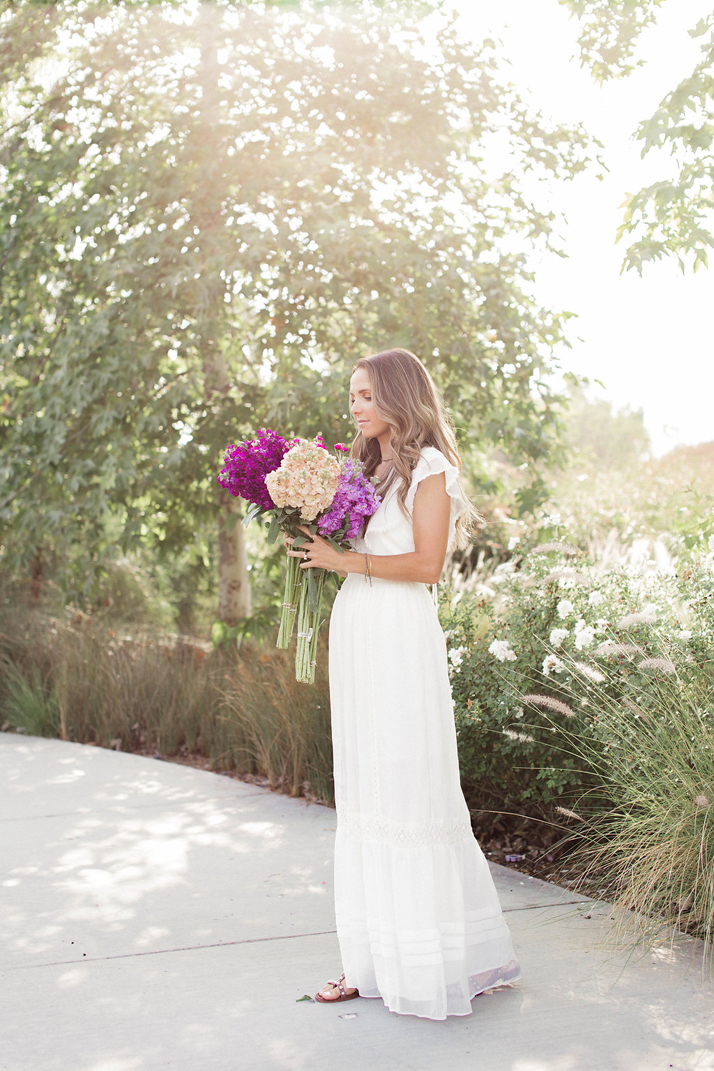 white zappos maxi dress | merricksart.com