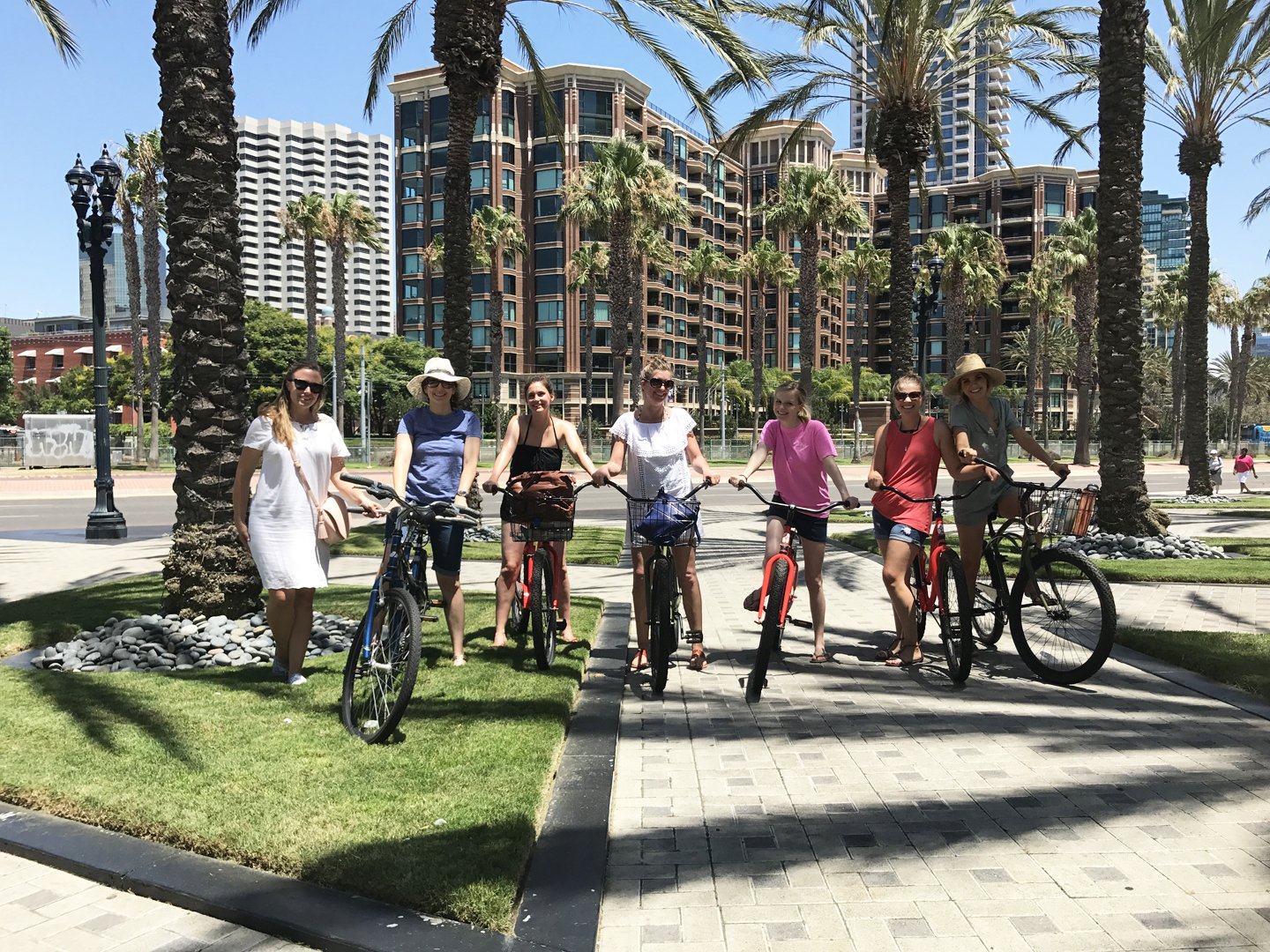 Bike Rentals from the Manchester Grand Hyatt Hotel