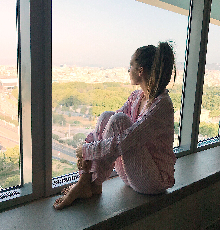 merricksart.com | pink pajamas